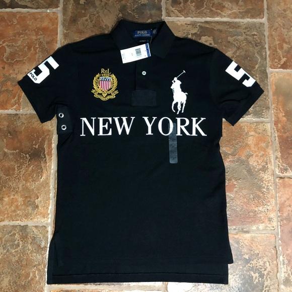 ef31420524c Men's polo Ralph Lauren New York polo brand new